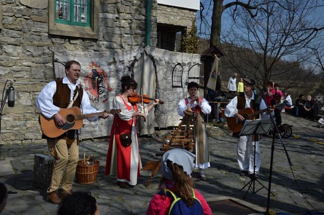 Otevírání hradu Štramberk